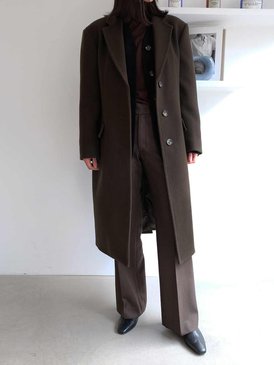 Merry Coat(Brown)