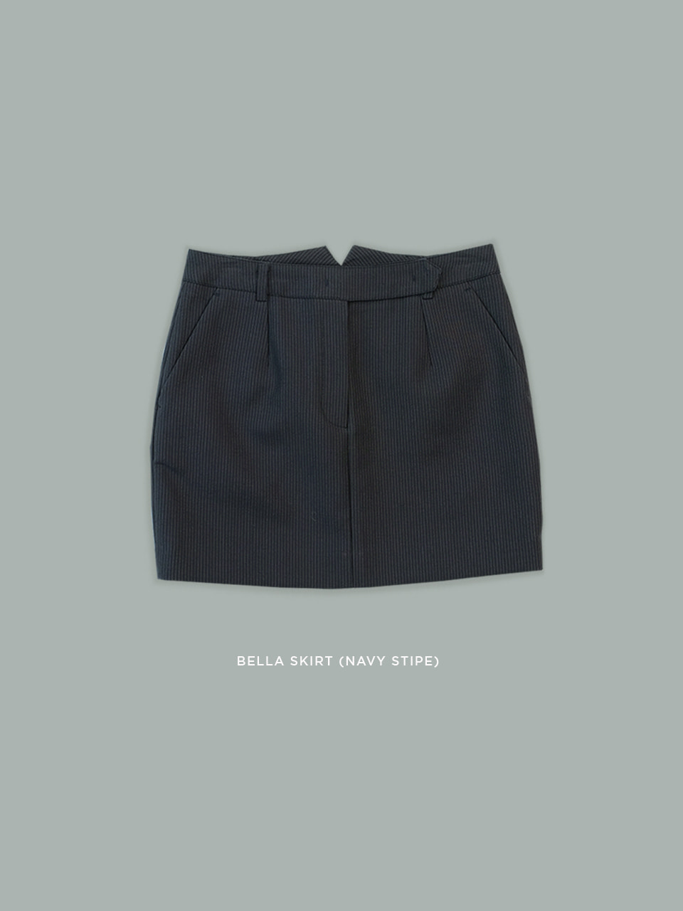 Bella Skirts(Navy Stirpe)