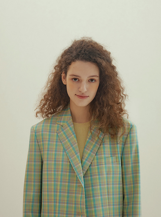 Bella Jacket (multi check)