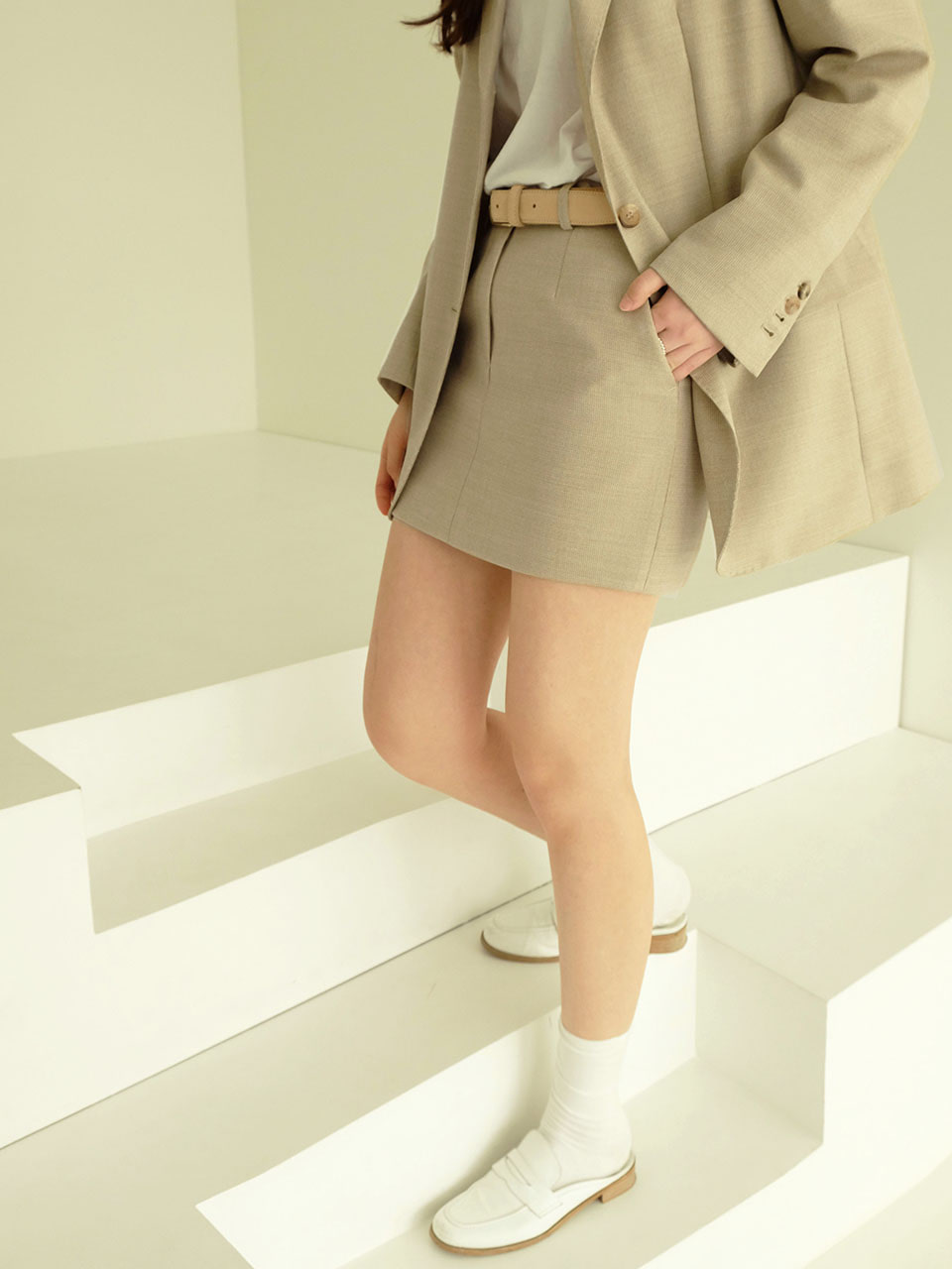 Bella skirts (Beige)