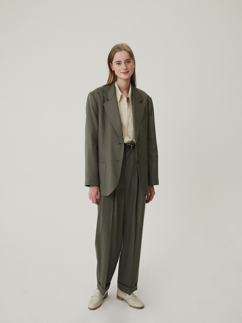 ALLEY JACKET [KHAKI]