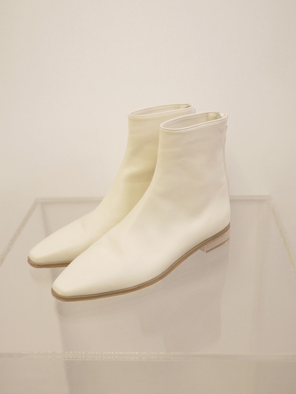 CODE BOOTS [ivory]