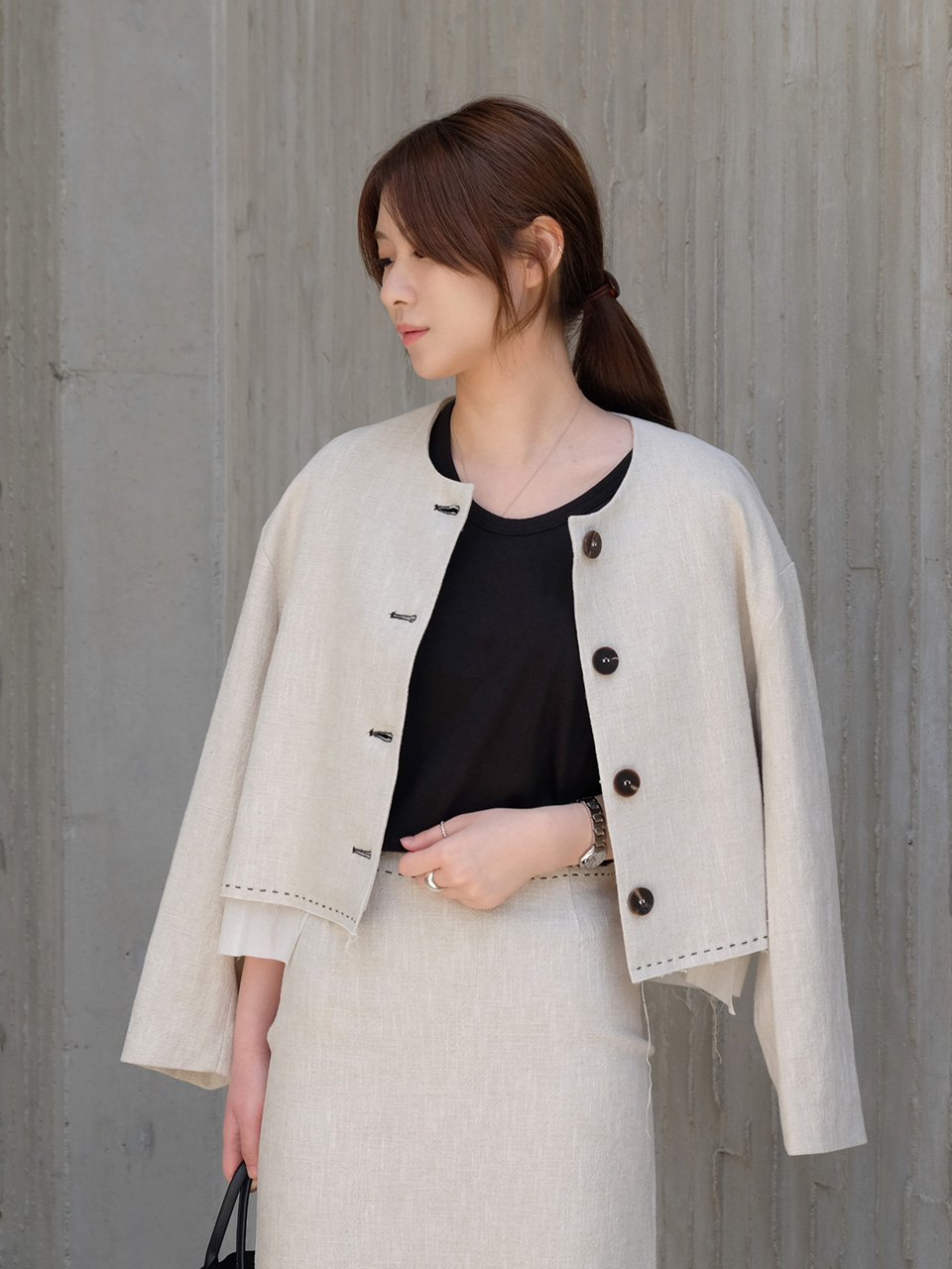 MASSIVE JACKET [BEIGE]