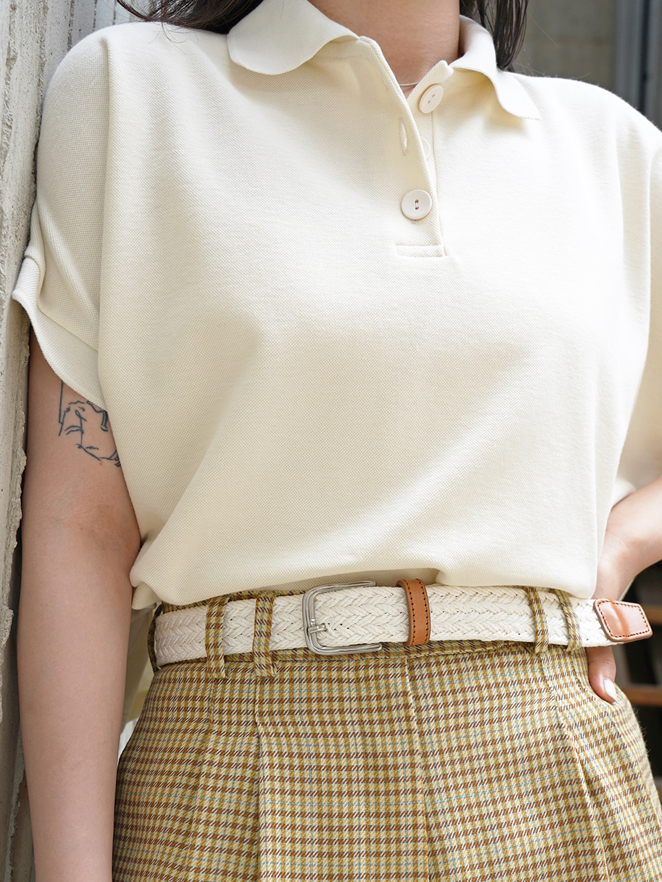 SADDLER BELT [CREME]