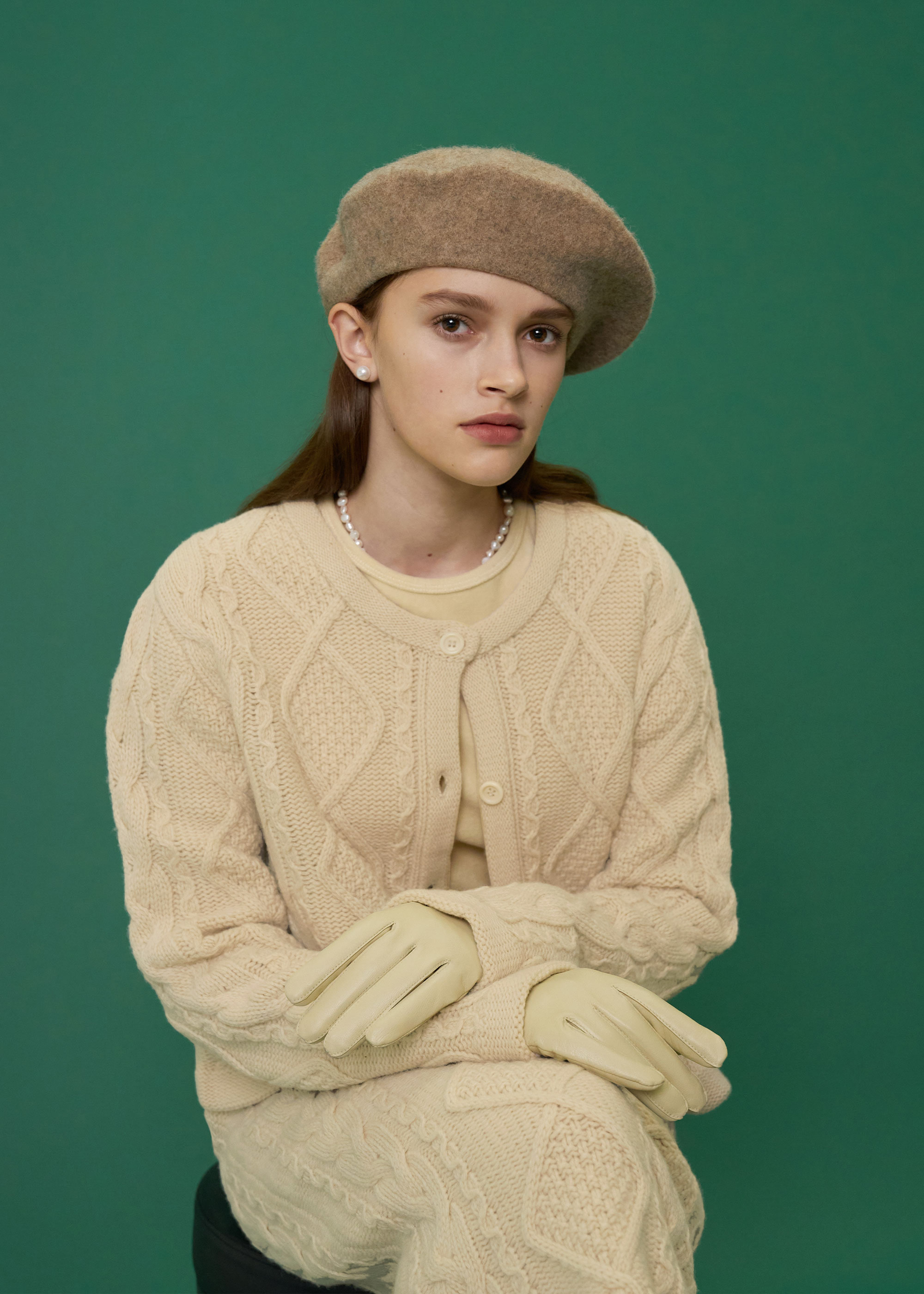 WOOL BERET [3COLOR]