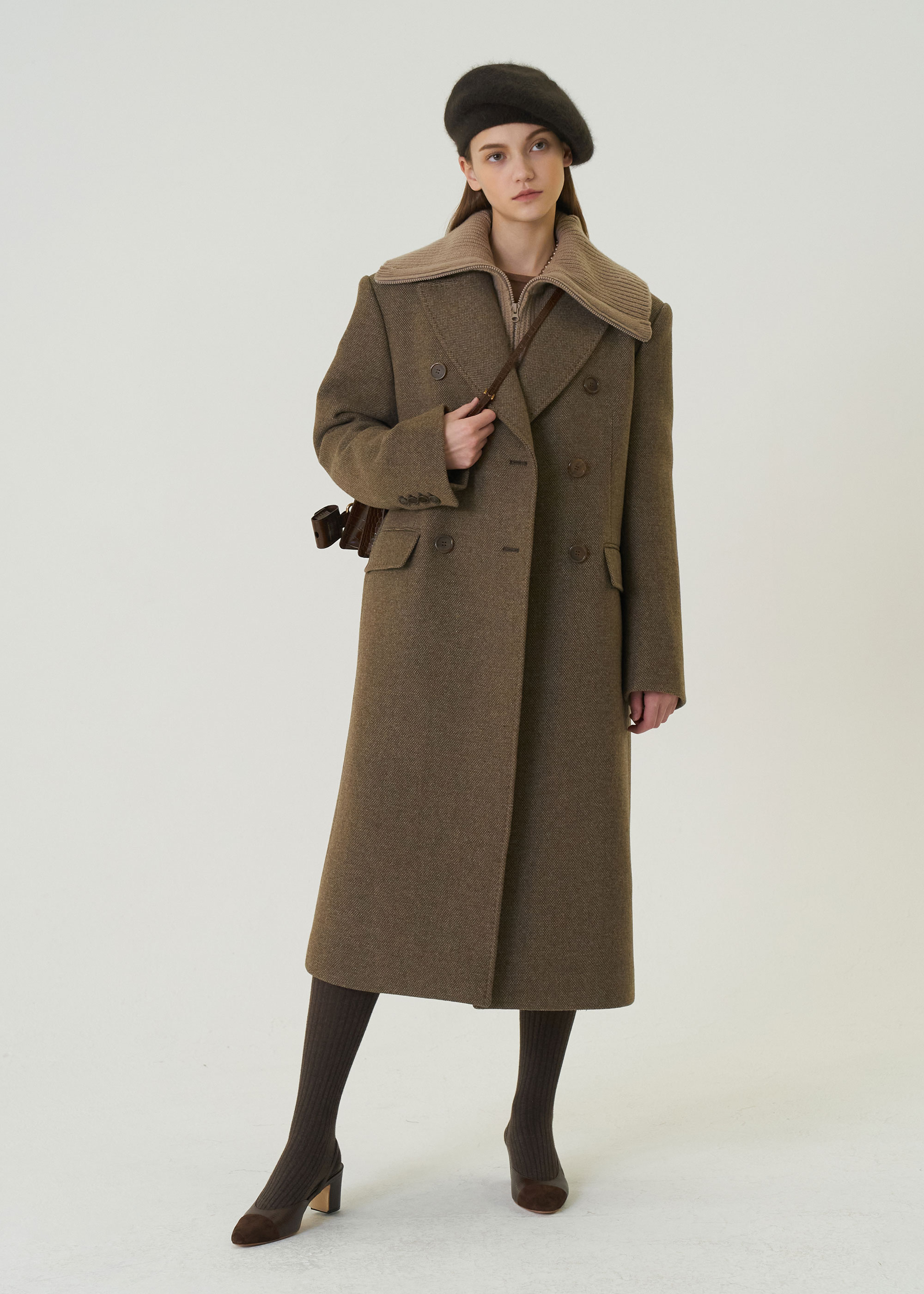 20W/T BOWIE COAT [2COLOR]  -30% OFF