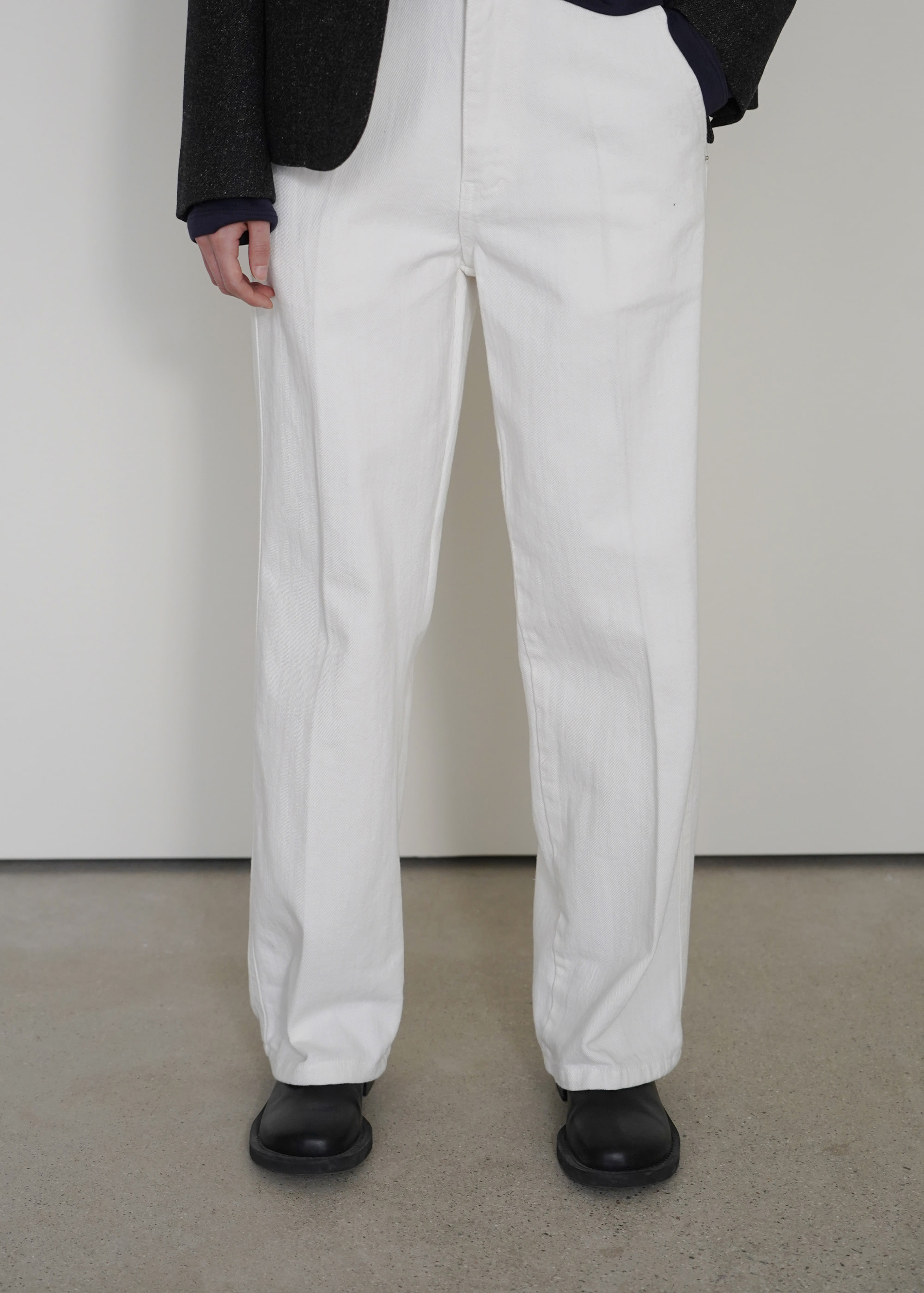 HOWELL DENIM [WHITE]