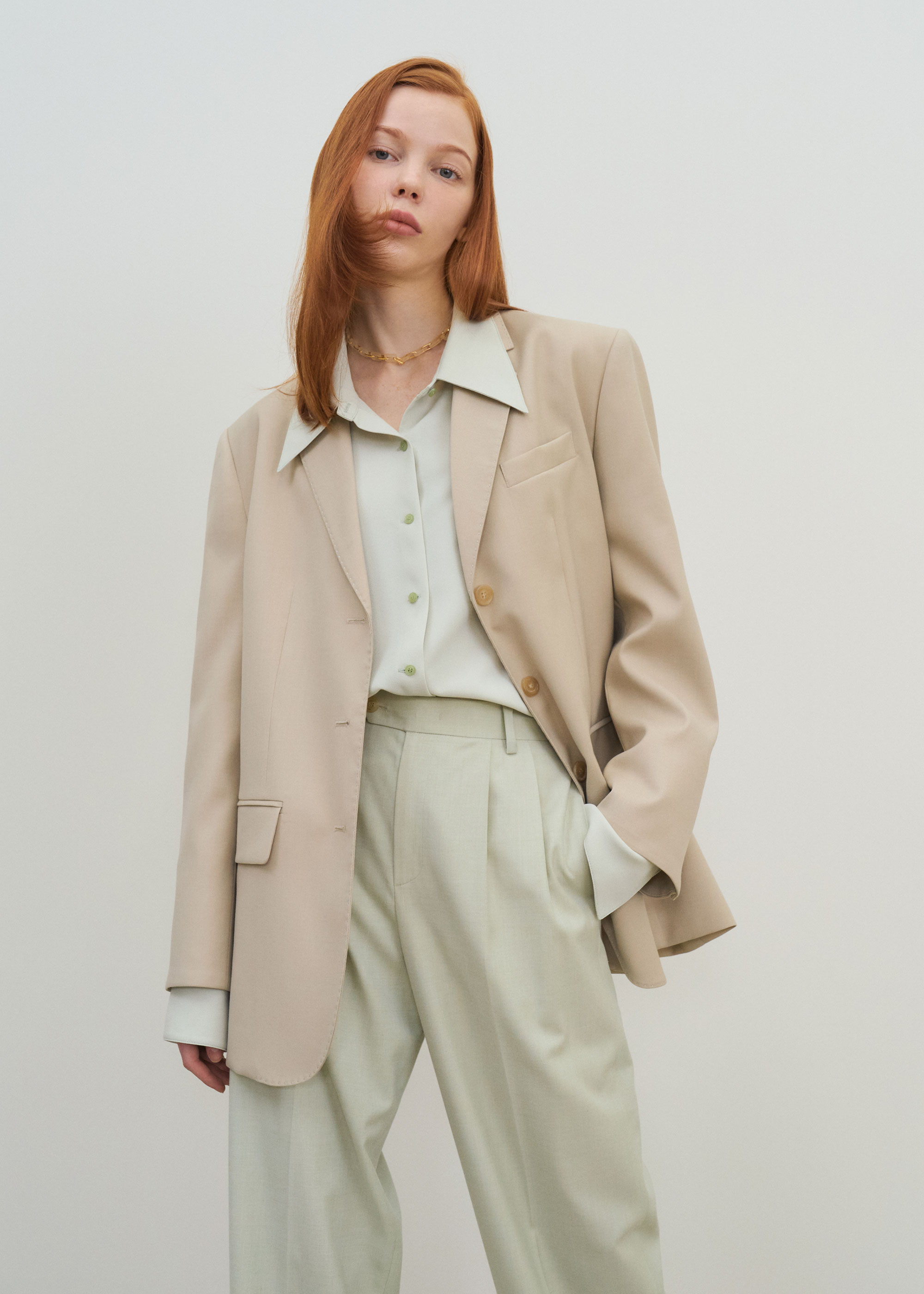 21S/S BELLA JACKET [LIGHT BEIGE]