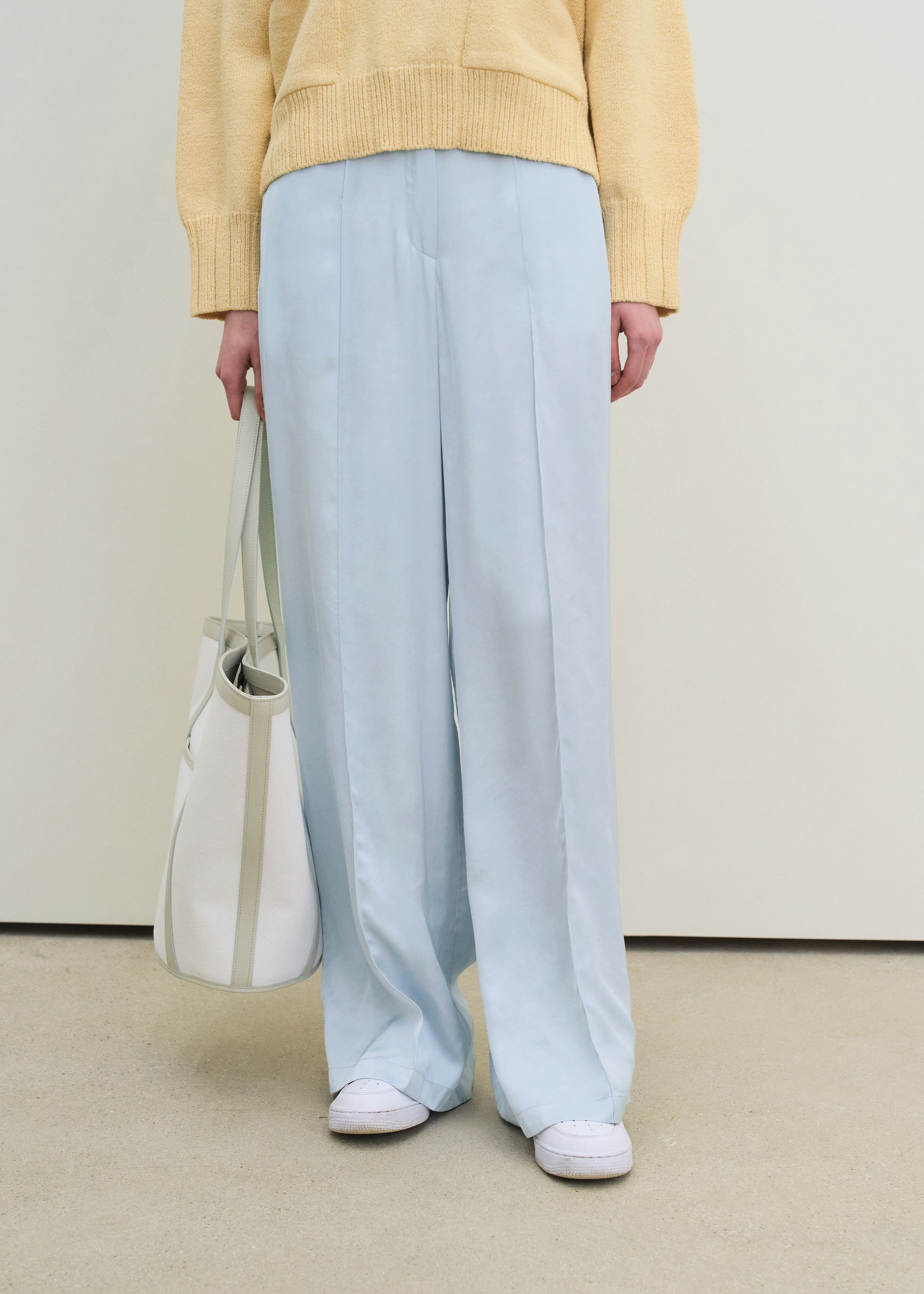 21S/S BANDING WIDE PANTS [4COLOR]